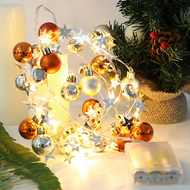 Nordic LED String Fairy Lights 5PCS Plastic Christmas Party Decoration Living Room from Singapore best online lighting shop horizon lights