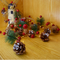 Christmas Tinsel string LED Fairy Lights for Merry Xmas (pine)