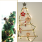 Christmas Tinsel string LED Fairy Lights for Merry Xmas (pine on wall)