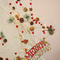 Christmas Tinsel string LED Fairy Lights for Merry Xmas (pine on tree)