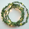 Christmas Tinsel string LED Fairy Lights for Merry Xmas (leaves)