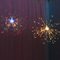 Nordic Style LED String Light 5PCS Outdoor Fireworks Shape Feative Party Decoration from Singapore best online lighting shop horizon lights
