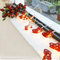 Santa Claus red socks LED String Fairy Lights for indoor Christmas Party Decoration (red socks with lights beside window)