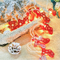Santa Claus red socks LED String Fairy Lights for indoor Christmas Party Decoration (red socks with  lights)