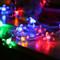 Nordic LED String Fairy Light 10PCS Plastic Sakura Shape Pendant Home Mall Shop Decor from Singapore best online lighting shop horizon lights