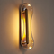 Modern LED Wall Light Stainless steel Glass Unqiue Corridor Bedroom Decor from Singapore best online lighting shop horizon lights