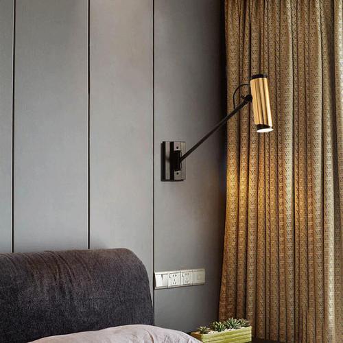 Modern LED Wall Light Metal Rotatable Practical Bedside Living Room Reading Light from Singapore best online lighting shop horizon lights