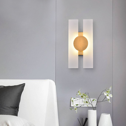 Modern LED Wall Light Metal Acrylic Classical Living Room Corrider Decor from Singapore best online lighting shop horizon lights