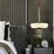 Modern LED Pendant Light Glass Shade H65 Copper Marble Bedroom Dining Room Decor from Singapore best online lighting shop horizon lights