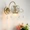 European Style LED Wall Light K9 Crystal Metal Luxurious Living Room Bedroom Decor from Singapore best online lighting shop horizon lights