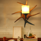 American Style LED Wall Light Resin Antler Decorative Glass Lampshade Dining Room from Singapore best online lighting shop horizon lights