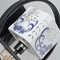Song dynasty porcelain, Chinese LED Philips E27 Wall Light for Asian and Zen (close up)