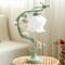 Pastoral Style LED Table Lamp Glass Shade Metal Flower Vine Romantic Home Decor from Singapore best online lighting shop horizon lights