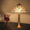 European Style LED Table Lamp Tiffany Glass Shade Copper Bedroom Decor from Singapore best online lighting shop horizon lights