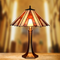 European Style LED Table Lamp Charming Tiffany Glass Shade Bedroom from Singapore best online lighting shop horizon lights
