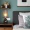 Modern LED Table Lamp PP Lampshade Metal Base Living Room Bedroom from Singapore best online lighting shop horizon lights