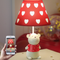 Modern LED Table Lamp Resin Cute Couple Bear Cloth Lampshade Bedroom from Singapore best online lighting shop horizon lights