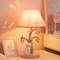 Modern LED Table Lamp Cloth Shade Resin Rabbit Tree Girls Bedroom  Princess Room from Singapore best online lighting shop horizon lights