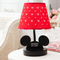 Modern LED Table Lamp 2PCS Cloth Red Micky Mouse Lampshade Shops Bedroom from Singapore best online lighting shop horizon lights