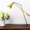 Modern LED Table Lamp H65 Copper Creative Adjustable Simple Study Bedroom from Singapore best online lighting shop horizon lights