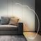 Modern LED Floor Lamp Metal Creative Wave Protect Eyes Acrylic Bedroom from Singapore best online lighting shop horizon lights
