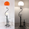 Modern LED Floor Lamp Metal Glass Lampshade Shelf Living Room Sofa Reading Light from Singapore best online lighting shop horizon lights