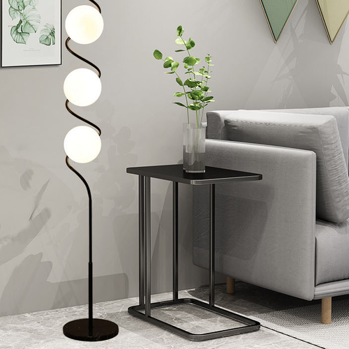Modern LED Floor Lamp Creative Metal Helix Shape Living Room Bedroom from Singapore best online lighting shop horizon lights