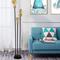 Modern LED Floor Lamp Metal Marble Base Luminous Lighting Living Room from Singapore best online lighting shop horizon lights