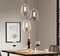 Modern LED Pendant Light Glass Lampshade Aluminum Elegant Dining Room from Singapore best online lighting shop horizon lights