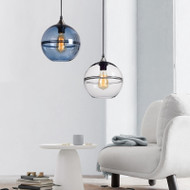 Modern LED Pendant Light Glass Ball Shade Stylish Decoration Dining Room from Singapore best online lighting shop horizon lights