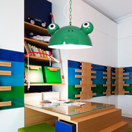 Modern LED Pendant Light Metal Cute Frog Shape Kindergarten Bedroom from Singapore best online lighting shop horizon lights