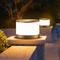 Waterproof LED Garden Lawn Light PC Stainless Steel Round Shape Simple Park Street IP54 from Singapore best online lighting shop horizon lights