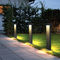 Waterproof LED Garden Lawn Light Aluminum Simple Gray/Balck Villa Park from Singapore best online lighting shop horizon lights