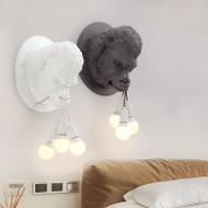 Post Modern LED Wall Lamp Resin Metal Gorilla Head Shape Unique Home Hotel Decor from Singapore best online lighting shop horizon lights