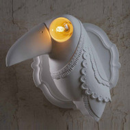 Modern LED Wall Lamp Resin Parrot Shape Creative Bedroom Corrider Decor from Singapore best online lighting shop horizon lights