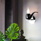 Modern LED Wall Lamp Resin Metal Tobacco Pipe Shape Living Room Corrider from Singapore best online lighting shop horizon lights
