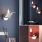 Modern LED Wall Lamp Resin Metal Tobacco Pipe Shape Living Room Corrider from Singapore best online lighting shop horizon lights