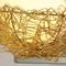 Modern LED Wall Lamp Aluminum Bird Nest Shape Creative Living Room