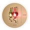 Wine Bottle Glass Creative Decorate LED Wall Lamp Retro Style Bar Dining Room