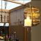 Retro Style LED Wall Lamp Metal Leaf Decorative Stylish Marble Corridor