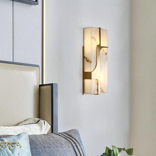 Modern LED Wall Light Stainless steel Resin Elegant Corrider Living Room