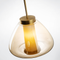 Nordic Style LED Pendant Light Glass Creative Shape Luxury Charming Bedroom