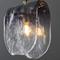 Post Modern LED Pendant Light Bending Glass Lampshade Copper Bedroom