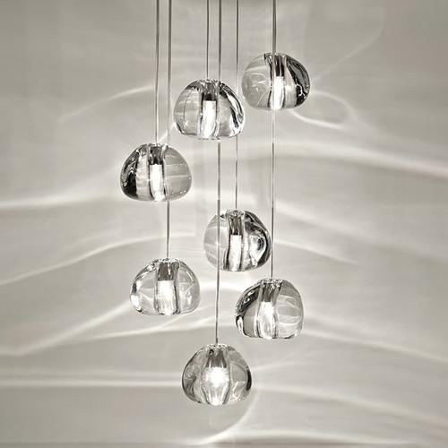 Modern LED Pendant Light Charming Crystal Decorate Creative Villa Living Room