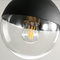 Modern LED Pendant Light Glass Lampshade Stylish Shape Balcony Hallway
