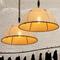 LED Pendant Light Linen Made American Style Retro Color Loft Dining Room from Singapore best online lighting shop horizon lights
