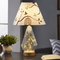 American Style LED Table Lamp Elegant Glass Cloth Lampshade Bedroom from Singapore best online lighting shop horizon lights