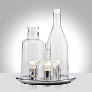 Modern LED Table Lamp Glass Shade Bottle Shape Decorate Bar Dining Room from Singapore best online lighting shop horizon lights