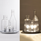 Modern LED Table Lamp Glass Shade Bottle Shape Decorate Bar Dining Room from Singapore best online lighting shop horizon lights