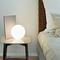 Modern LED Table Lamp Ball Shaped Glass Metal Base Creative Bedroom from Singapore best online lighting shop horizon lights